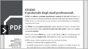 studio commerciale consulente del lavoro gestionale